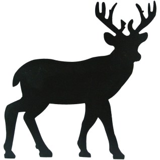 Metal Deer Silhouette Wallhanging