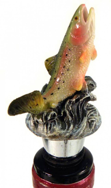 Rainbow Trout Bottle Stopper
