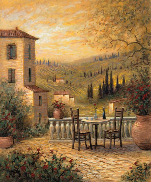 Tuscan View For Two