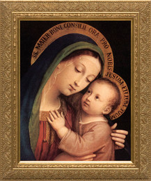 Our Lady Of Good Counsel Framed Art Catholic To The Max