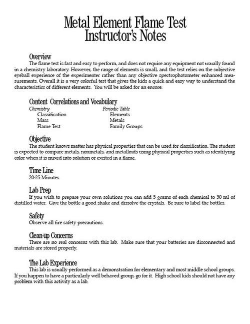 Periodic table test pdf microfinanceindia metal element flame test pdf urtaz Choice Image