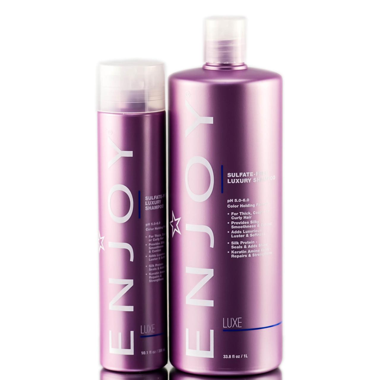 Enjoy Sulfate-Free Luxury Shampoo - SleekShop.com ...