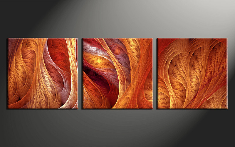 Image Result For Modern Orange Wall Art