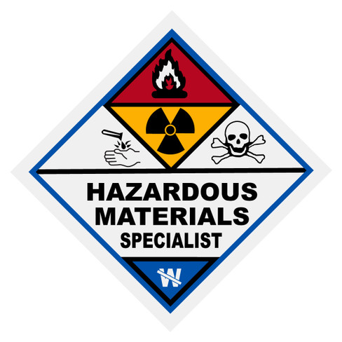 Hazardous Materials Specialist Decal - The Emergency Mall