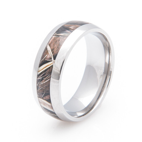 Titanium Realtree MAX 4 Camo Wedding Band Titanium Buzz