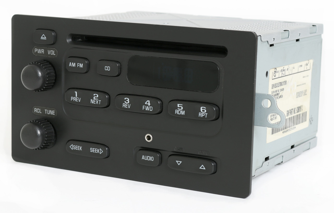 Chevy Express Van 2003-07 GMC Savana Radio AM FM CD Player