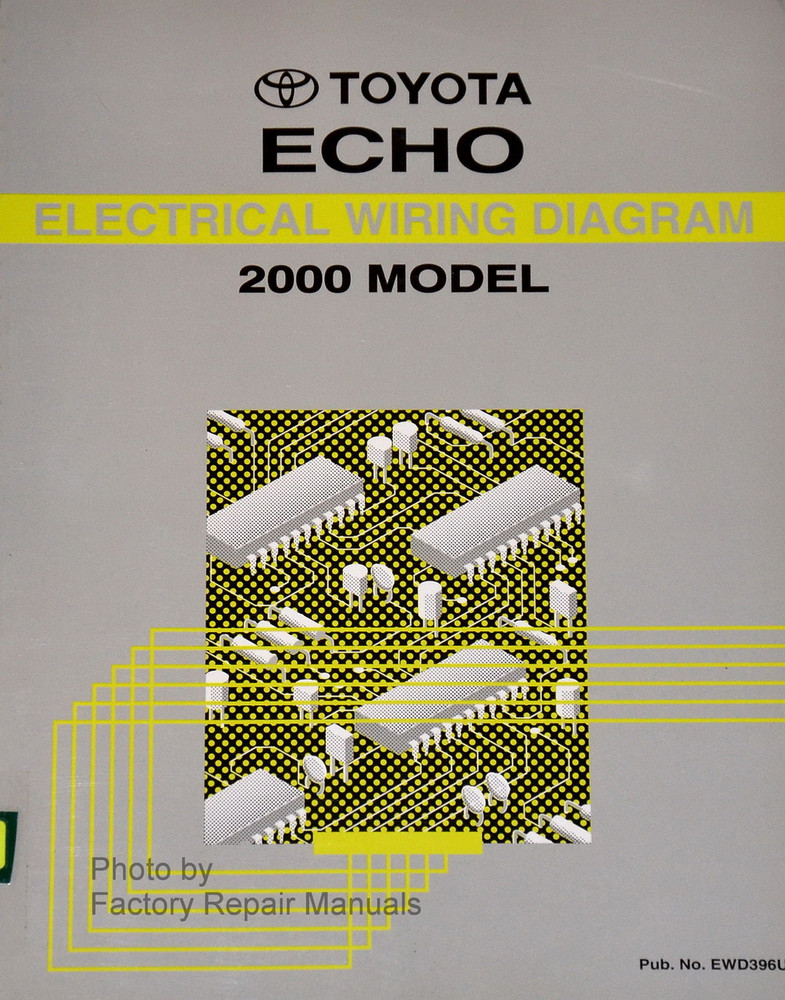 2000 Toyota Echo Electrical Wiring Diagrams Original