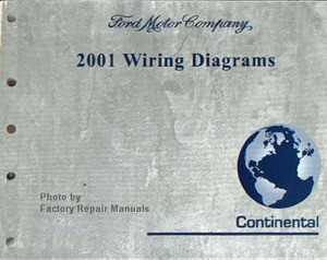 2001 Lincoln Continental Electrical Wiring Diagrams