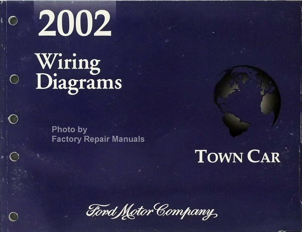 2002 Lincoln Town Car Electrical Wiring Diagrams