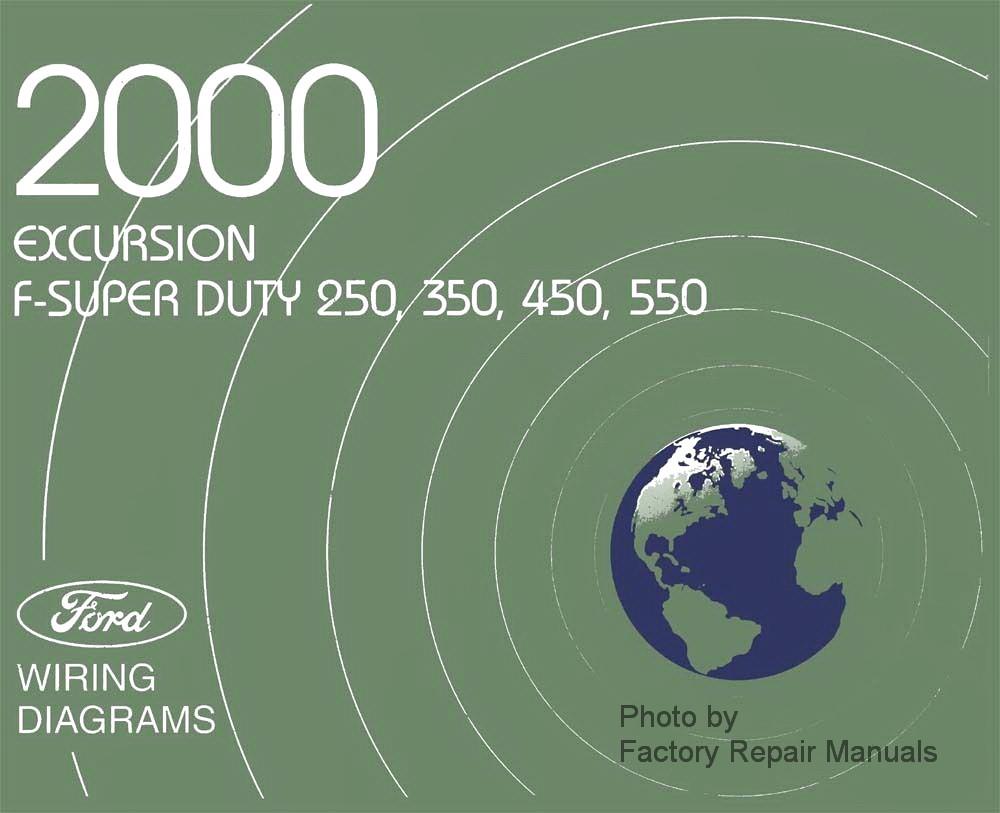 2000 Ford F250 F350 F450 F550 Super Duty Truck & Excursion
