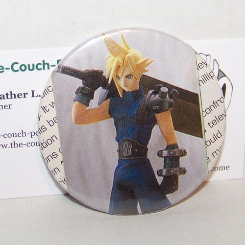 Final Fantasy VII Cloud - Custom Button