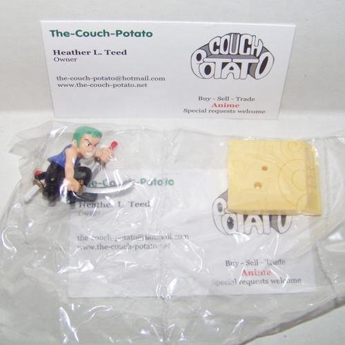 One Piece Zoro figure toy Gashapon