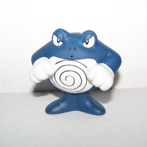 Pokemon Poliwrath Burger King meal toy Squirter