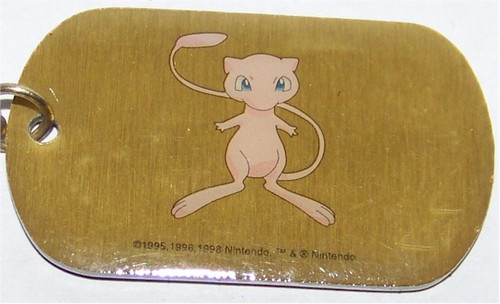 Pokemon Mew Dogtag necklace