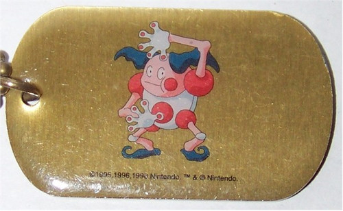Pokemon Mr Mime Dogtag necklace