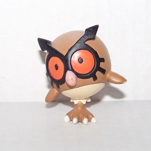 Pokemon Hoothoot Tomy Figure