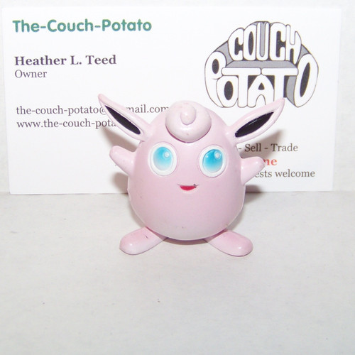 Pokemon Wigglytuff Tomy Figure