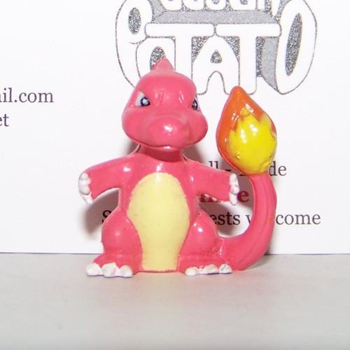 Pokemon Charmeleon Stamp Figure