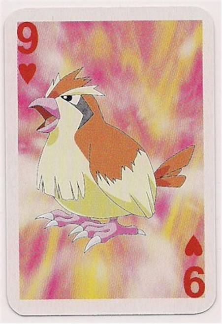 Pokemon Pidgey Mini Playing Card