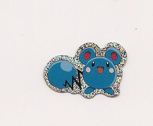Pokemon Azurill small foil sticker