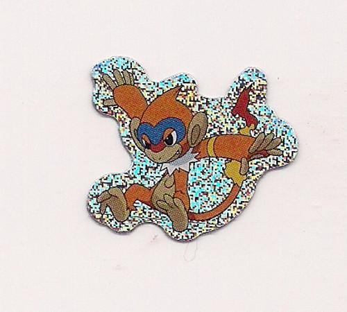 Pokemon Monferno small foil sticker