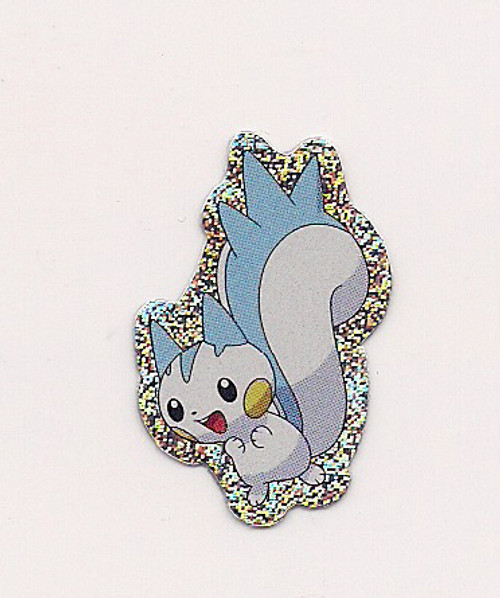 Pokemon Pachirisu small foil sticker