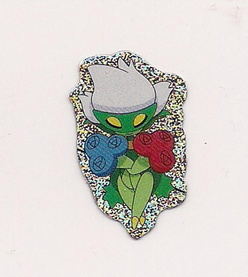 Pokemon Roserade small foil sticker