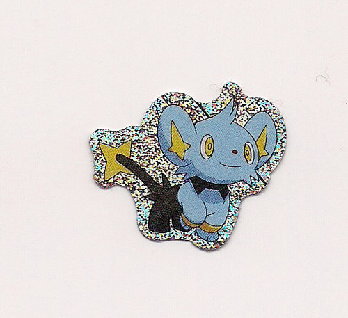 Pokemon Shinx small foil sticker