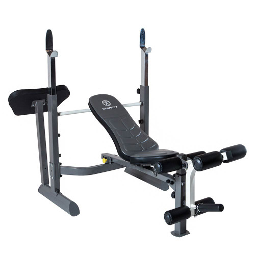 Marcy Foldable Mid Size Workout Bench Mwb 50100 Quality