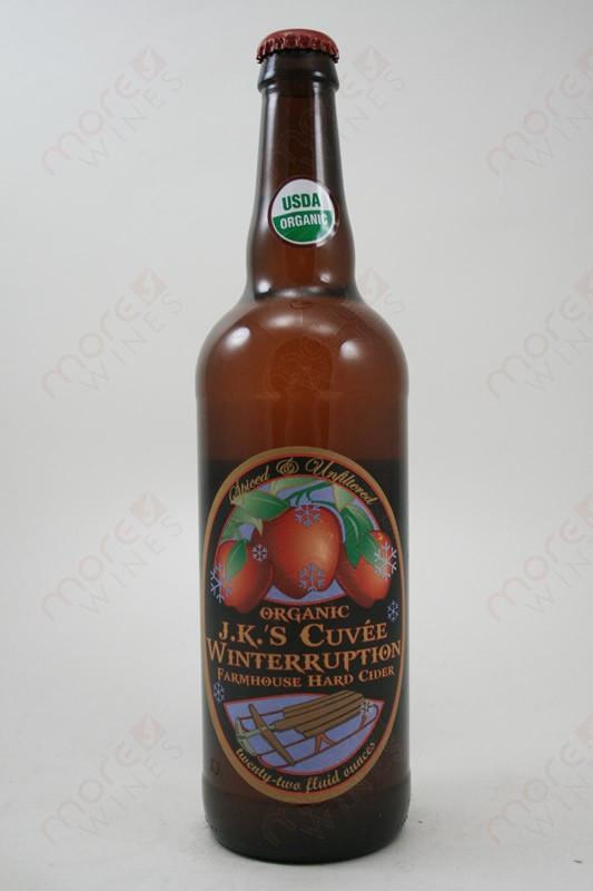 JKs Cuvee Winterruption Farmhouse Hard Cider 22fl Oz