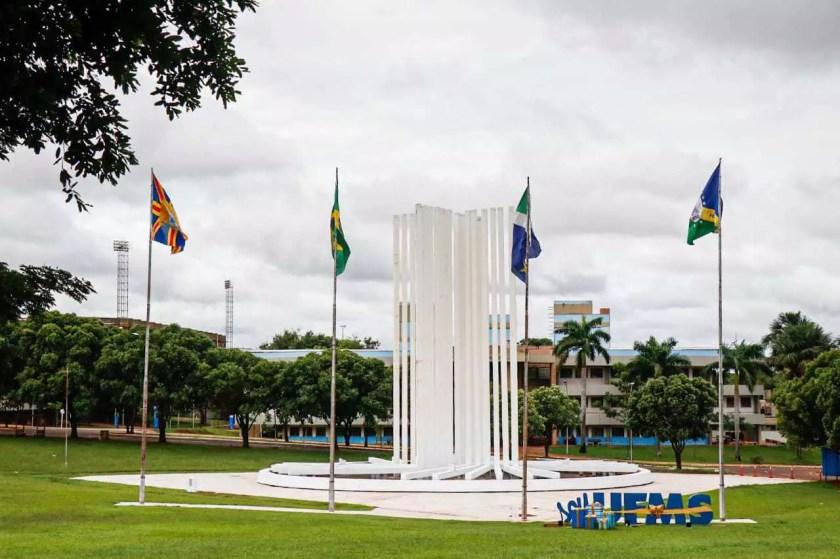 Campus of the Federal University of Mato Grosso do Sul. (Photo: Henrique Kawaminami)