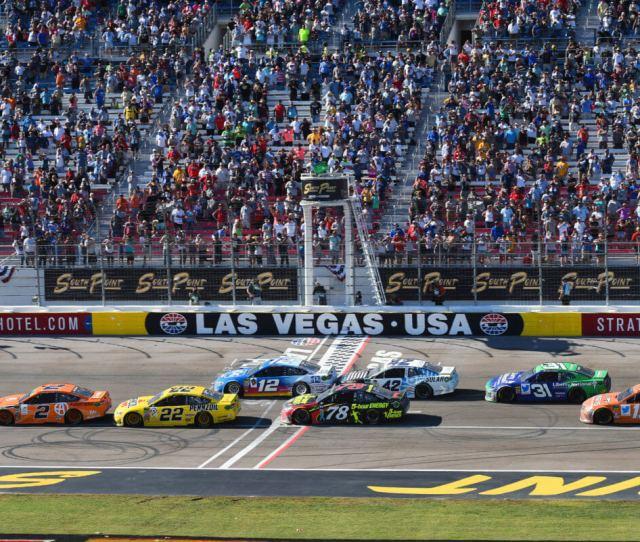 Las Vegas Motor Speedway Named Speedway Of The Year Charlotte