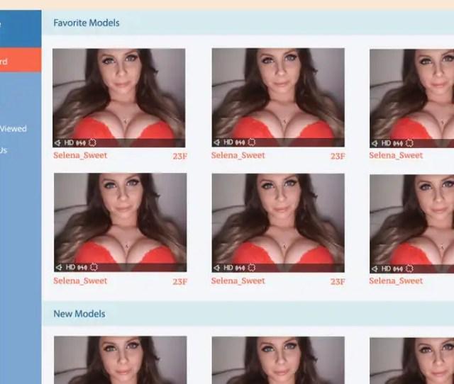 Contest Entry 3 For Adult Webcam Mockup Ui