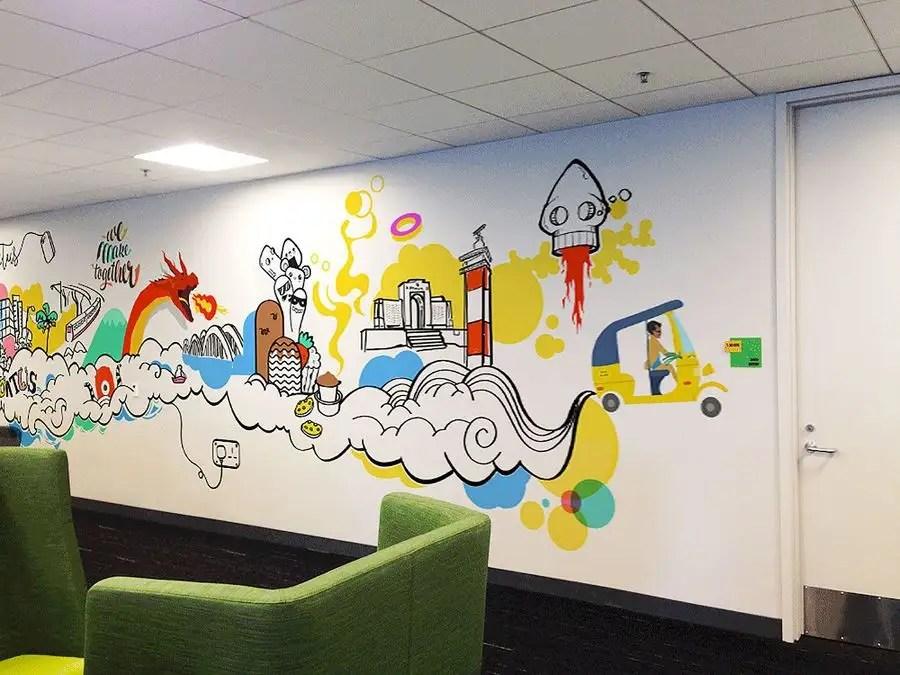 Entry 87 By Freelancershajiv For Office Wall Art Freelancer