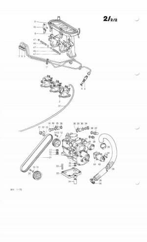 Porsche 911 Bosch Mechanical Fuel Injection Overview   911 (196589)  930 Turbo (197589