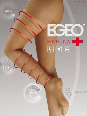 reducere Ciorapi compresivi (8-11 mmHg) Egeo Medica 40 den, cel mai mic pret