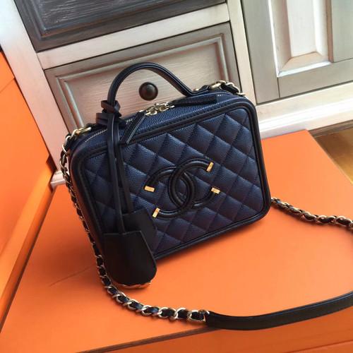 Chanel S Gabrielle Backpack Black White Bella Vita Moda