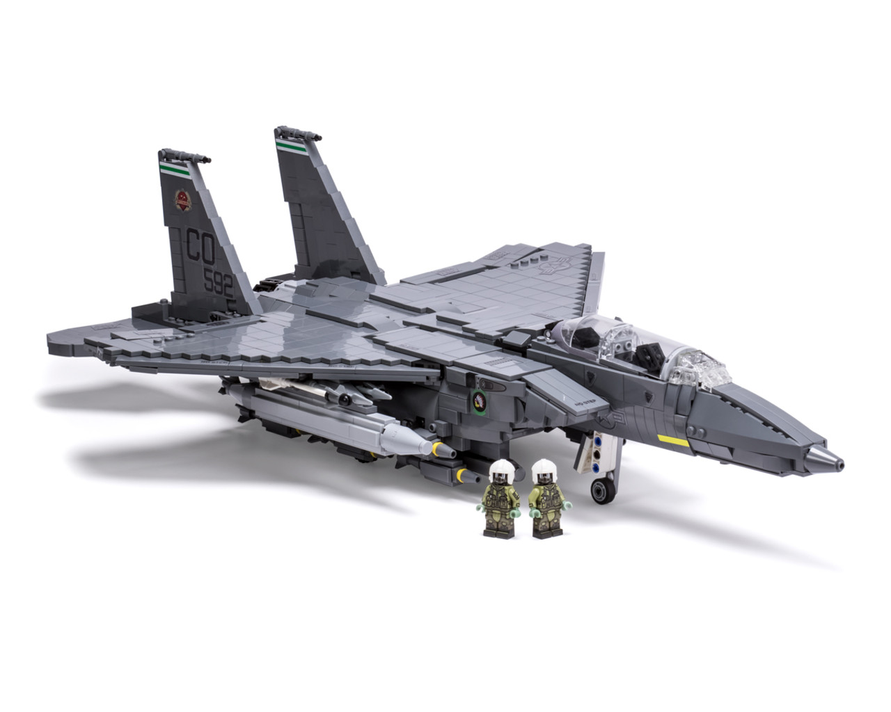 F 15E Strike Eagle   Brickmania Toys F 15E Strike Eagle
