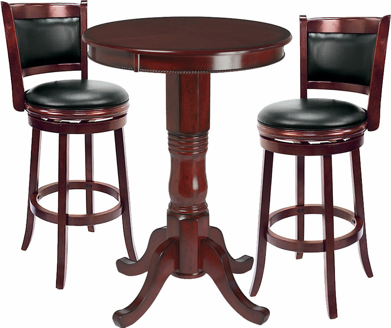 Ram Pub Table Set 3 Piece English Tudor Ozone Billiards