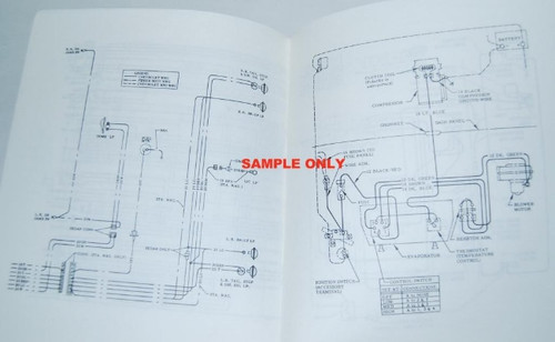 71 1971 CHEVY NOVA ELECTRICAL WIRING DIAGRAM MANUAL  I5 Classic Chevy