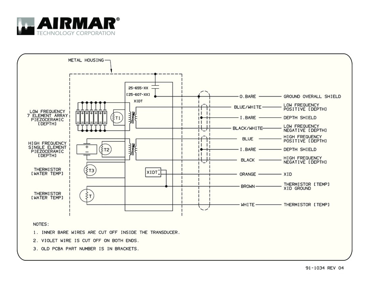 Transducer Wiring Diagram | Wiring Library
