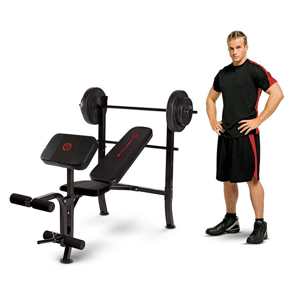 Standard Bench 80lbs Weight Set Quality Strength Products
