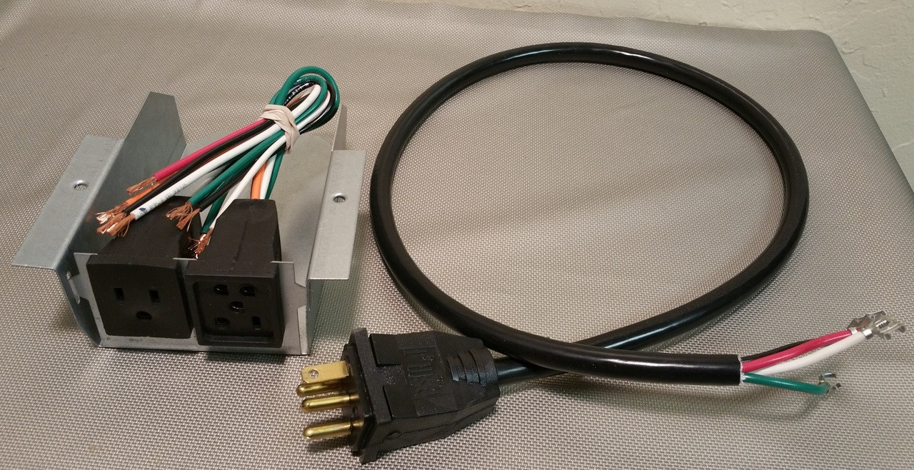 115v Plug Box & Cord Changeover  Indoor Comfort Supply