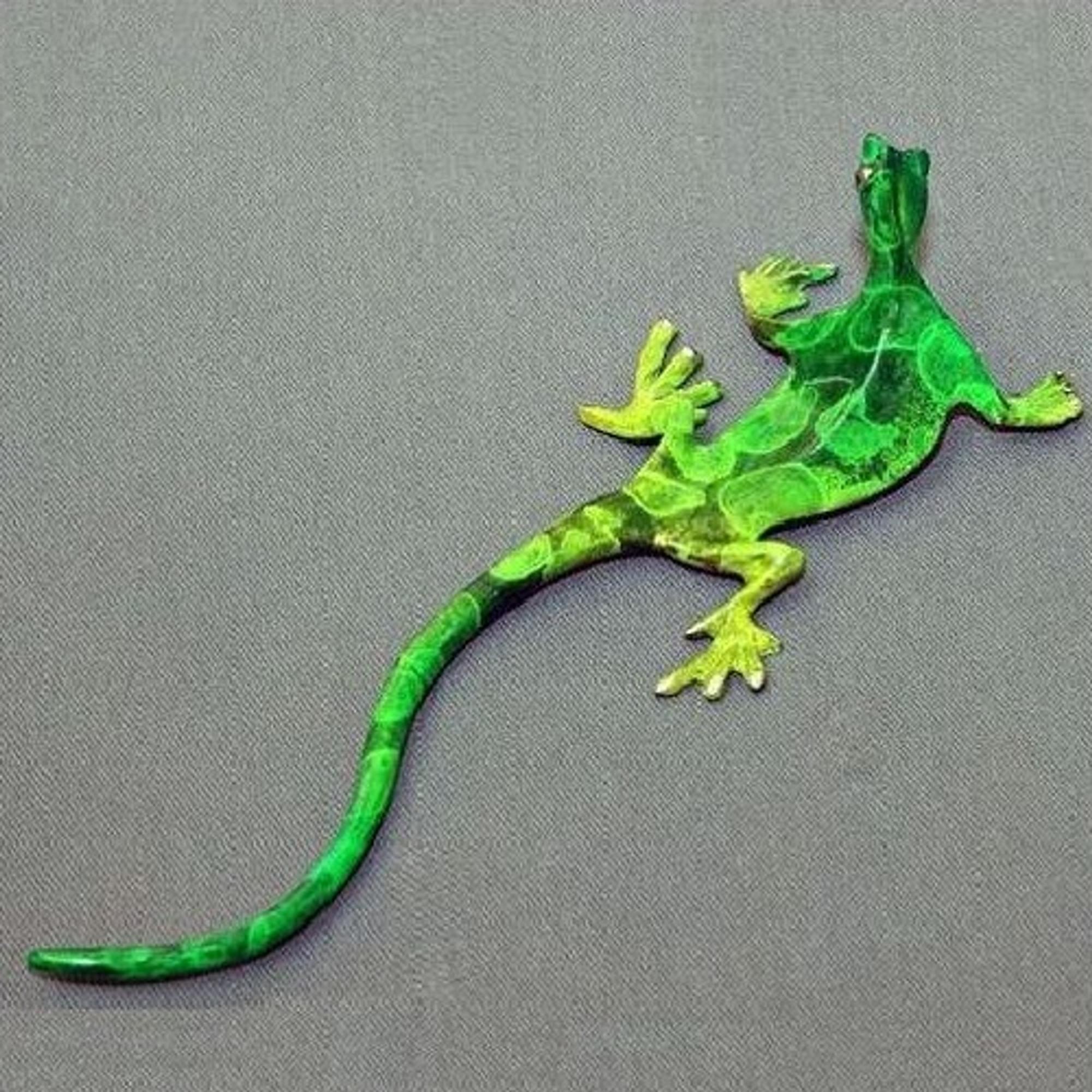 Solar Gecko Wall Art