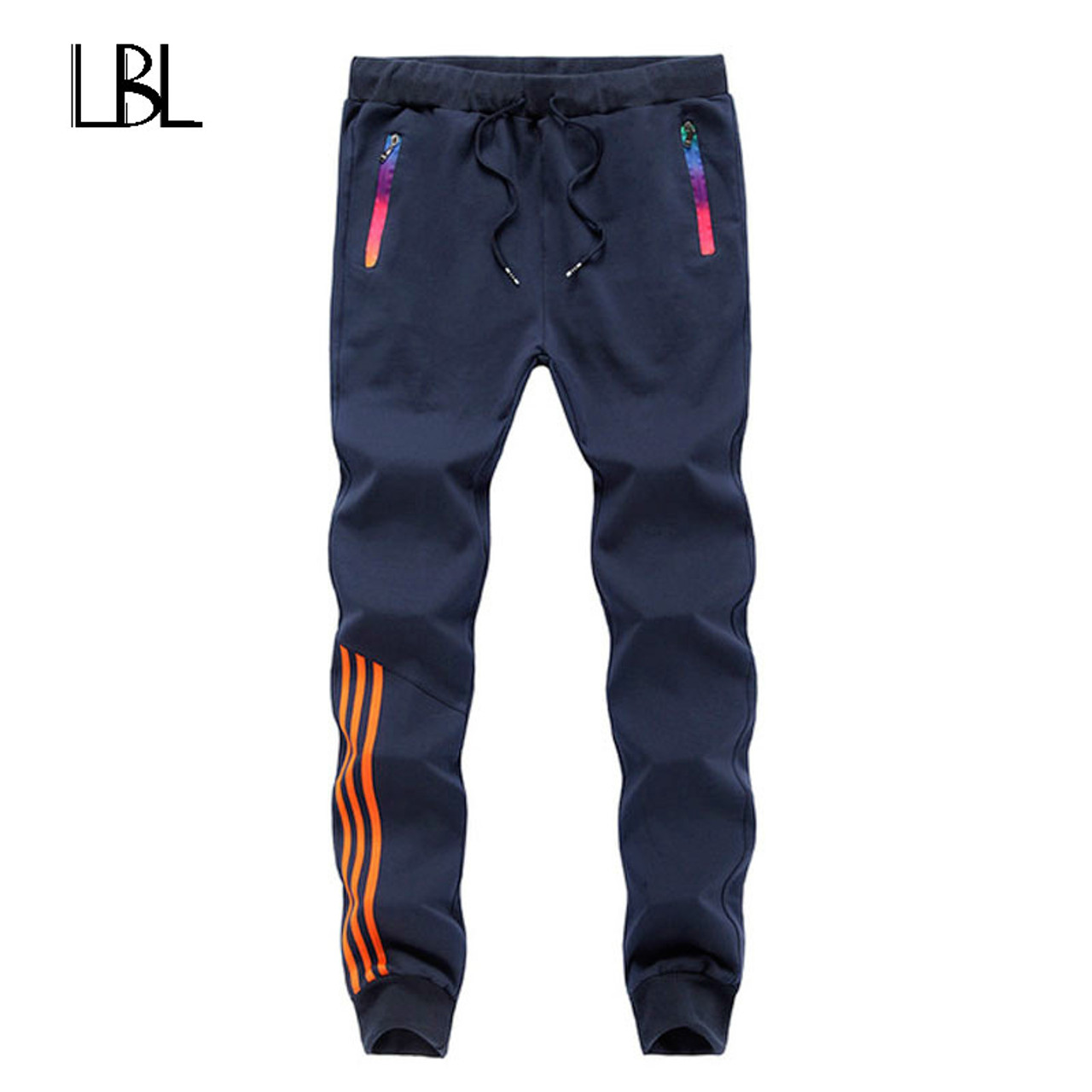 2018 New Fashion Tracksuit Bottoms Mens Casual Pants Cotton         2018 New Fashion Tracksuit Bottoms Mens Casual Pants Cotton Sweatpants  Mens Joggers Striped Pants Gyms Clothing