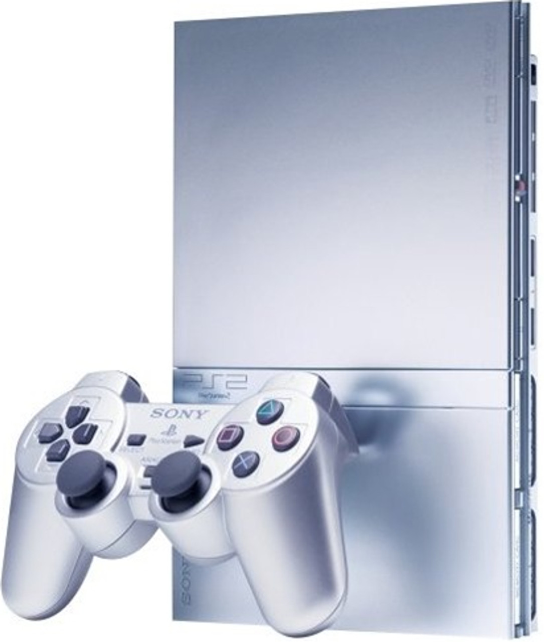 Silver Playstation 2 Slim Console Repair