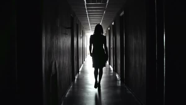 Image result for woman in corridor