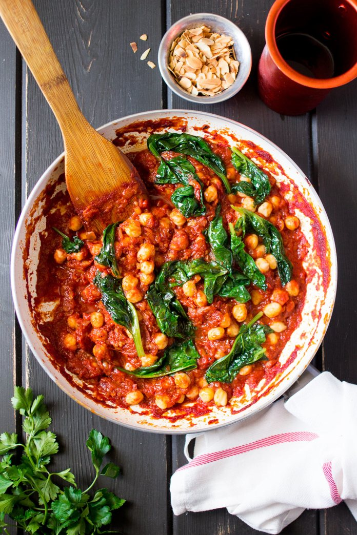 Image result for Spanish Chickpea and Spinach Stew