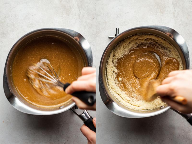 vegan marzipan truffles 5 ingredients making