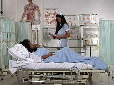 Minka & Angelique: The Classic hospital scene